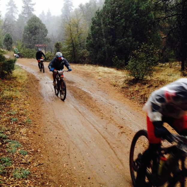 Whiskey Off Road 2014 - out towards the 50 miler proof